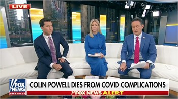 Colin Powell dead at 84 from COVID-19 complications