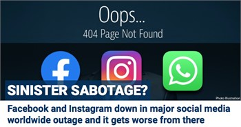Facebook is DOWN!